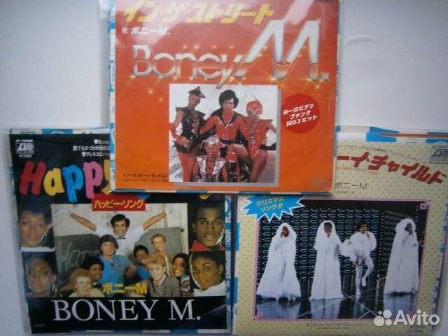 LOT boney M - 7 single japan 16 штук сорокопяток купить 6