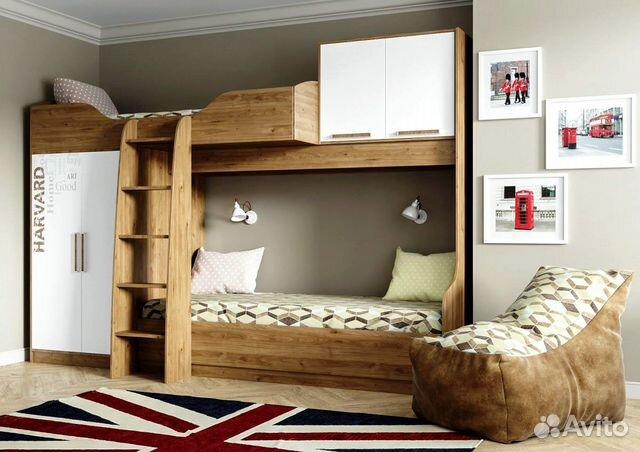 Кровать двухъярусная «Гарвард»