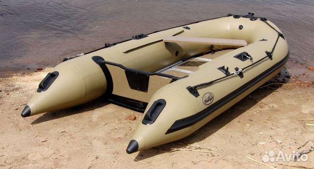 Продам надувную лодку под мотор до 30л.с. badger купить 1