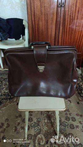 Портфель из СССР 70-х  89271251936 купить 1