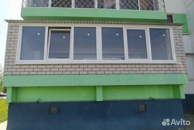 Балкон под ключ, Обшивка, Остекление купить 2