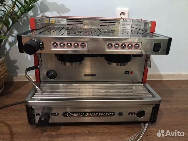 Профессиональная кофемашина 2-х рожковая