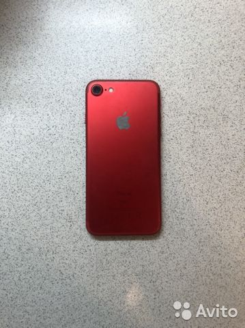 iPhone 7-32GB/red