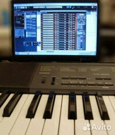 Музыкальный синтезатор Casio CTK-2200  89912445458 купить 2