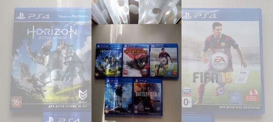 Продам диски для PS 4