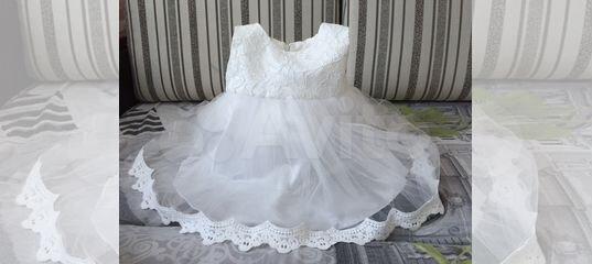 40265ed54c2c7d2 Нарядное платье р. 80 купить в Смоленской области на Avito — Объявления на  сайте Авито