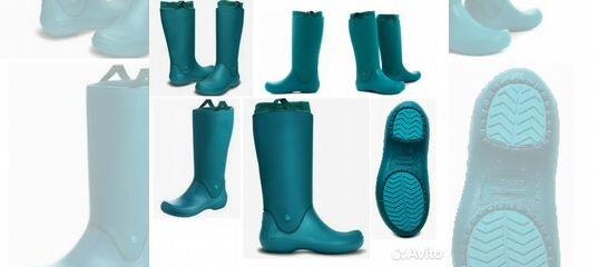 993f5693e18d Сапоги резиновые Womens Rain Floe Crocs 35 - 42 р