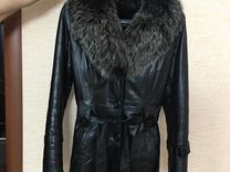 Натуральная зимняя куртка размер М