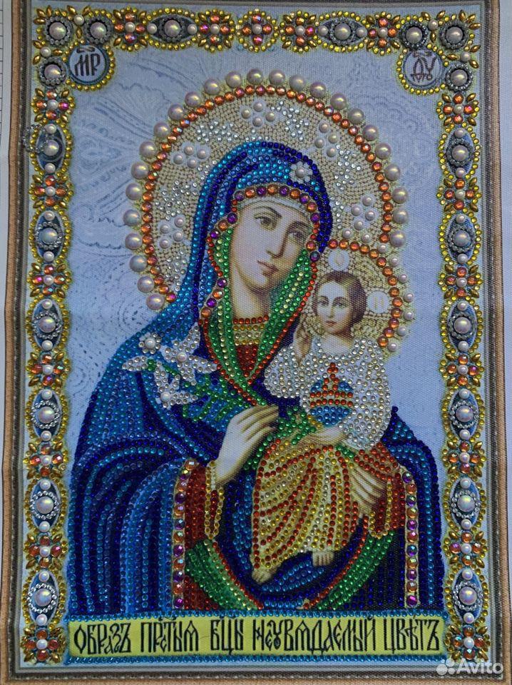 Готовая алмазная мозаика «Икона»