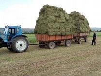 Продам небольшие тюки сена по 50-70 кг