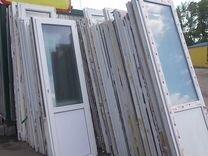 Пластиковые двери пвх Б/У