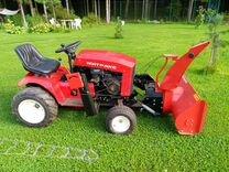 Садовый трактор митракс