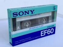 Аудиокассета Sony EF запечатанная