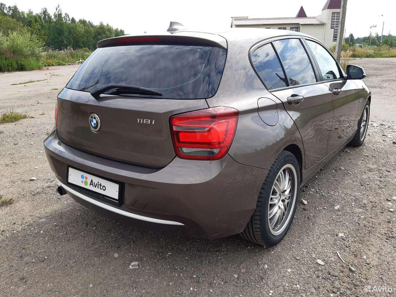BMW 1 серия, 2013  89116117462 купить 6