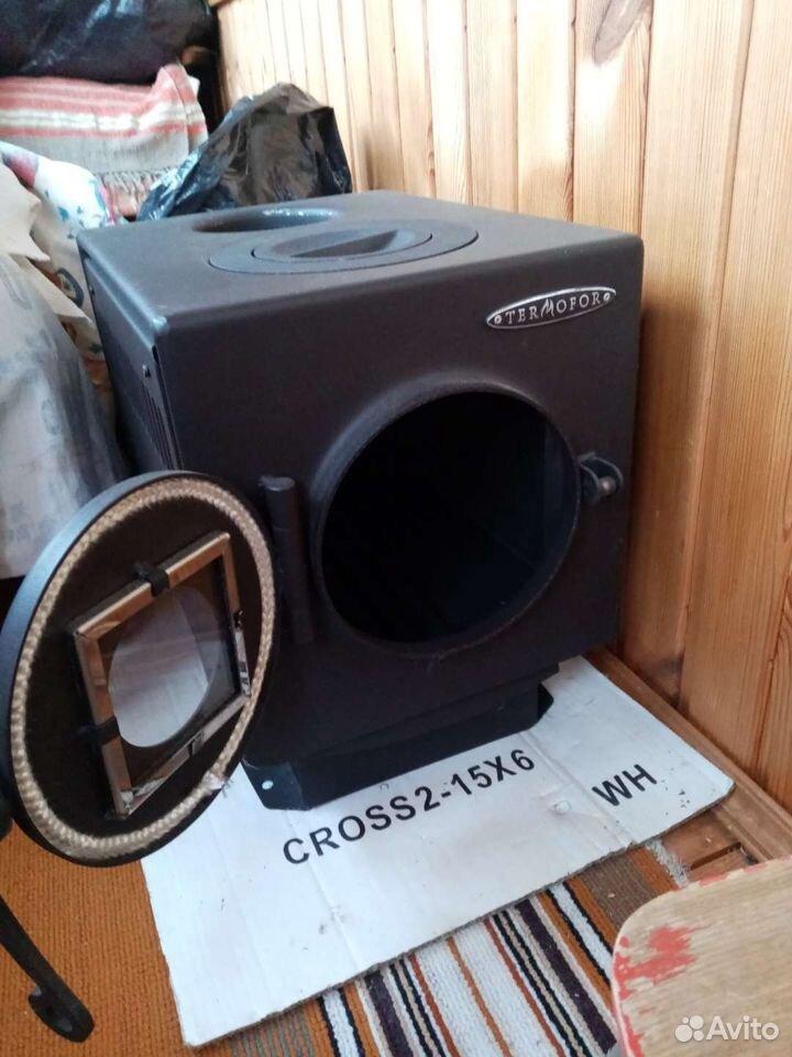 Дровяная отопительно-варочная печь 89176640680 купить 2