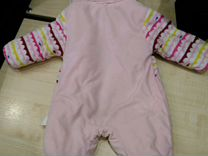Теплый плюшевый комбинезон, до 8 месяцев — Детская одежда и обувь в Новосибирске