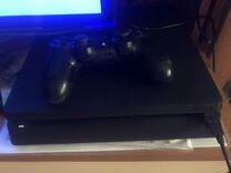 Продам PS4 Slim 500 gb с 5 играми
