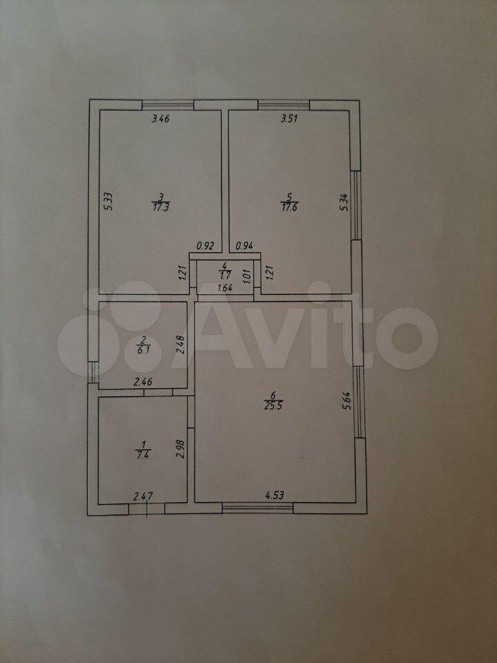 Haus 75 m2 auf einem Grundstück von 6 SOT.  89127436895 kaufen 9