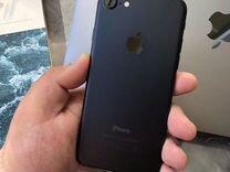 iPhone 7 black 32gb идеальное состояние