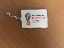 Брелок russia world cup 2018
