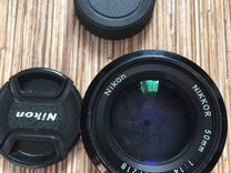 Nikon Nikor 50 mm F 1.4