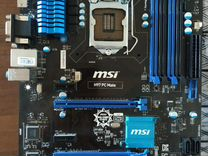 MSI H97 PC Mate + i3 4170 + 12 GB + Кулер