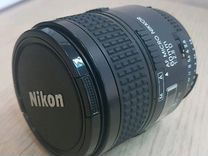 Объектив AF micro nikkor 60mm 1:2.8 D