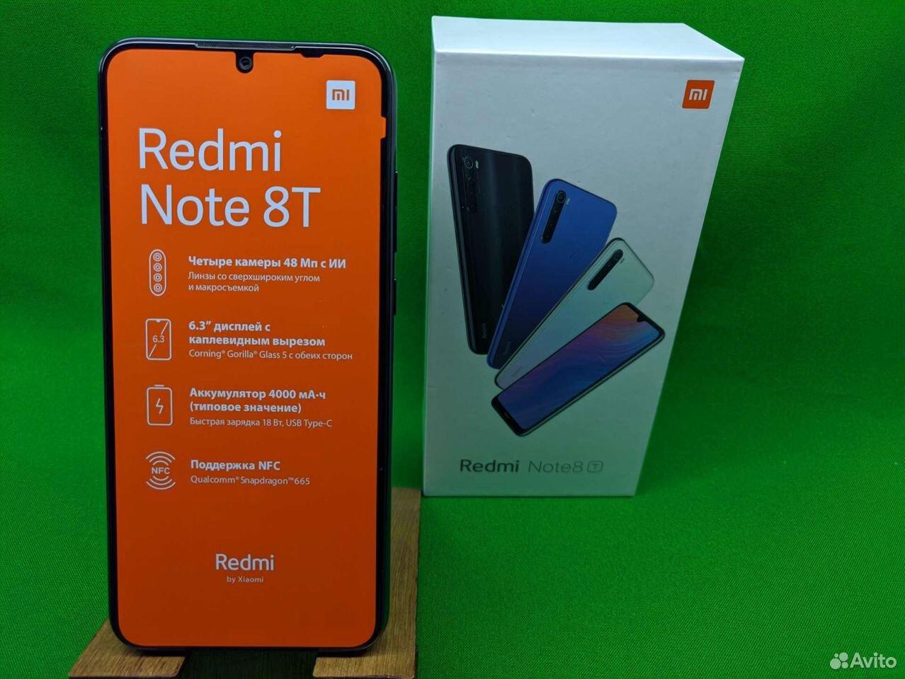 Xiaomi Redmi Note 8T 4/128Gb  89114786632 купить 1