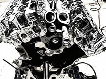 V9X nissan infiniti двигатель