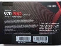 SAMSUNG 970 Pro M.2 512Gb, SSD PCI-E, новый