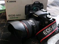 Фотоаппарат Cаnоn EOS 60D + объектив Сanоn 24-105