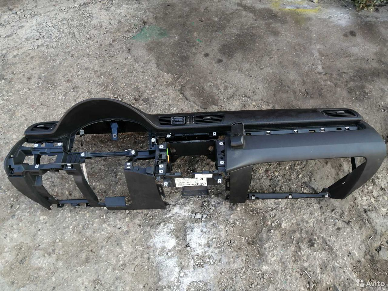 Торпедо С подушкой Пассат Б6 Под Кондиционер  89202352229 купить 2