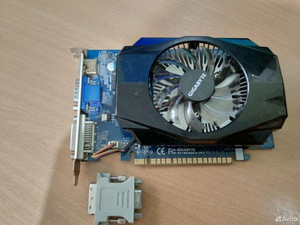 GT440 gigabyte  89156334170 купить 1