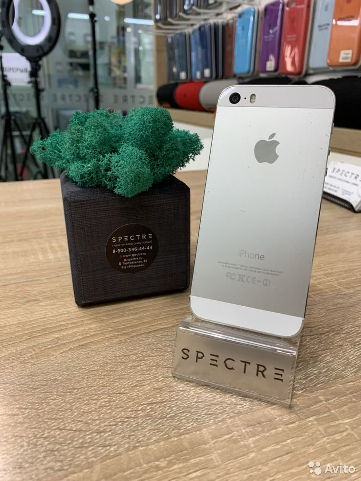 iPhone 5s Silver 16 gb original  89527999199 купить 1