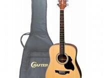 Crafter D-6 N чехол - акустическая гитара крафтер