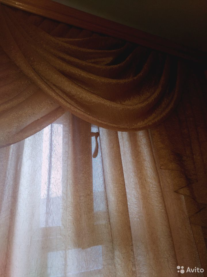 Ламбрекен и шторы
