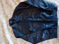 Кожаная куртка — Одежда, обувь, аксессуары в Москве