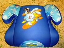 Детское кресло-бустер для ребёнка 15-36 кг