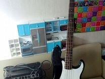 Бас гитара + комбик