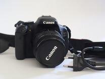 Фотоаппарат canon 600D kit