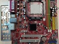 Мат плата AM2 MSI K9N6SGM mATX