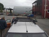 Багажник Лада Ларгус на рейлинги