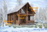 Русский Сруб с 1997г. - производство срубов домов и бань